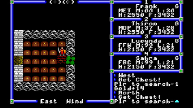 Screenshot aus Ultima 3