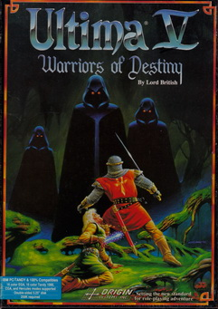 Box von Ultima V - Warriors of Destiny
