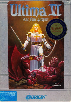 Box von Ultima VI - The False Prophet