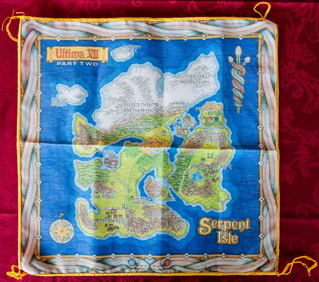 Ultima VII Part I Cloth Map