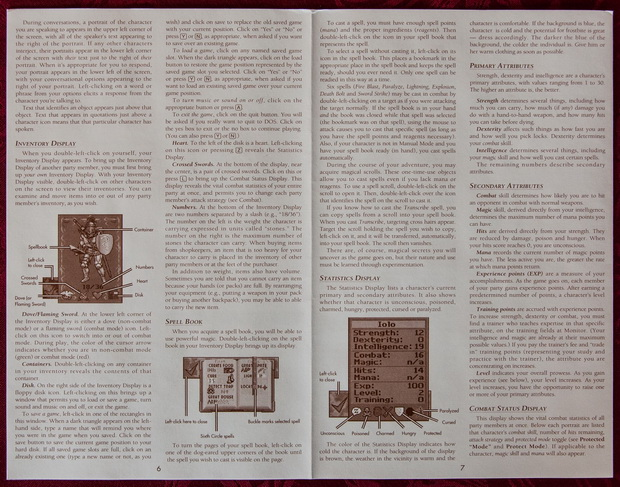 Blick in den Ultima VII Part II Reference Guide