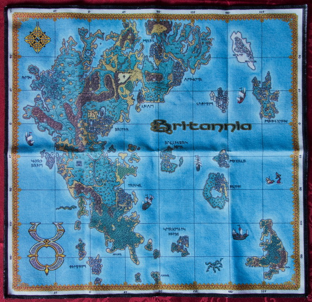 Ultima Online Cloth Map