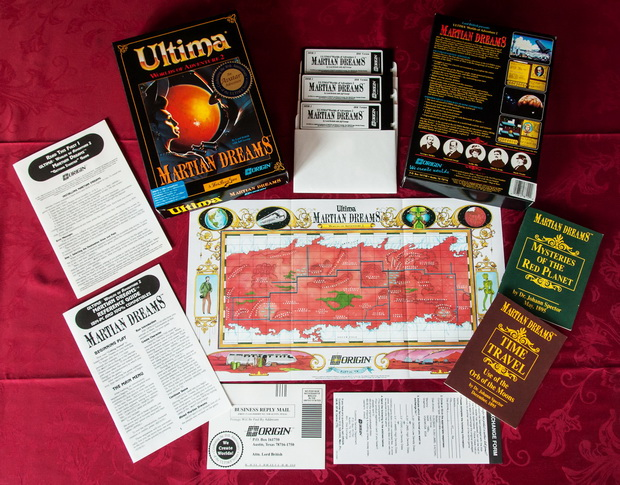 Inhalt der Martian Dreams Spielebox