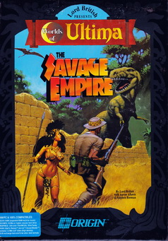Box von Ultima Worlds of Adventure - Savage Empire